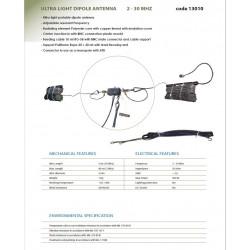 Banten 13010, Antena dipolo